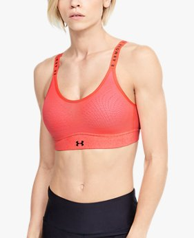 Women's UA Infinity Mid Heather Sports Bra