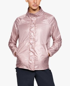 Women's UA Recover Woven Iridescent Full Zip