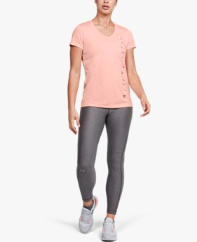 Women's UA Velocity Graphic V-Neck Short Sleeve