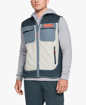 Herenbodywarmer UA Trek Polar Fleece