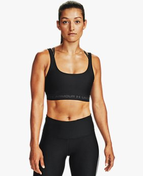 Women's Armour® Mid Crossback 2W Sports Bra