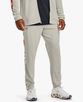 Men's UA Sportstyle Pique Upstream Camo Tracksuit Trousers