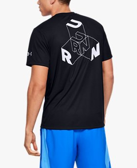Men's UA Run Cubed Graphic T-Shirt