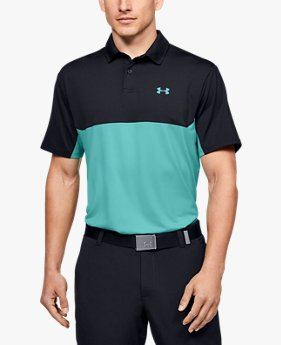 Polo UA Performance 2.0 Colorblock para hombre