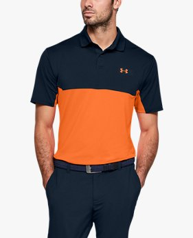 Herren UA Performance 2.0 Poloshirt in Blockfarben-Optik
