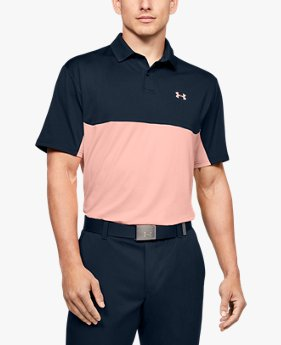 Polo UA Performance 2.0 Colorblock da uomo