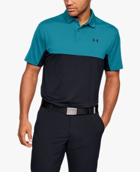 Polo UA Performance 2.0 Colorblock pour homme