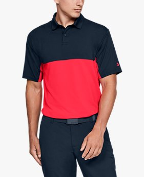Polo UA Performance 2.0 Crestable Colorblock pour homme