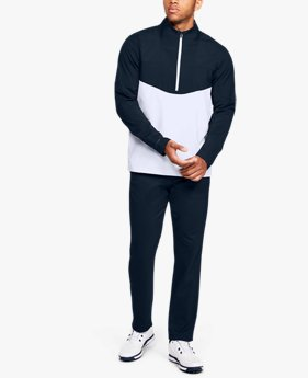 Sweat UA Storm Windstrike Crestable ½ Zip pour homme
