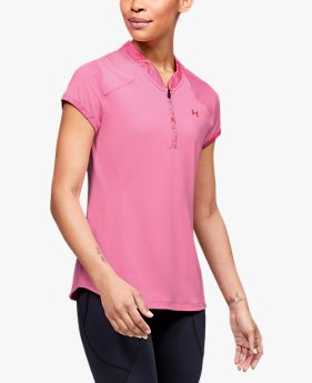 Women's UA Zinger Zip Polo