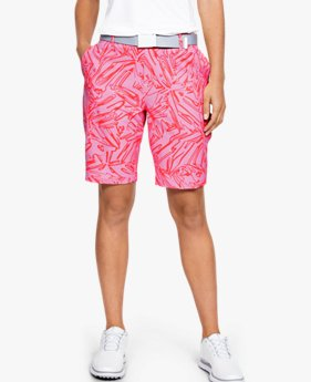 Damen UA Links Shorts mit Druck