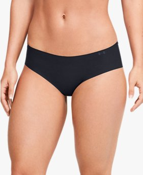 Women's UA Pure Stretch Hipster 3-Pack Underwear