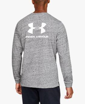 Sweat à col ras du cou UA Sportstyle Terry Logo pour homme