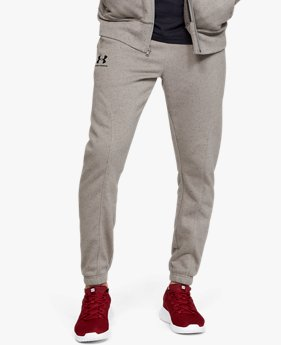 Jogger UA Speckled Fleece da uomo