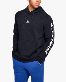 Herenhoodie UA Rival Fleece PTH