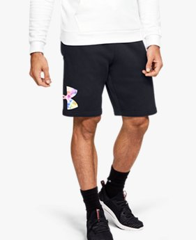 Men's UA Pride Rival Fleece Shorts
