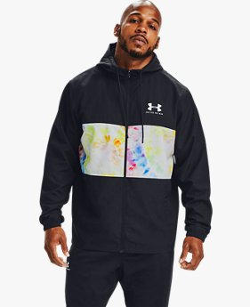 Men's UA Pride Sportstyle Wind Hooded Jacket