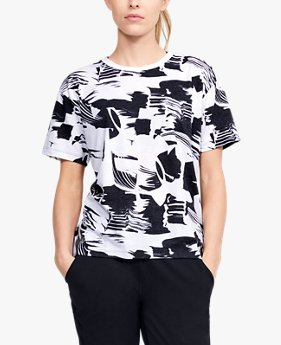 Women's UA Logo Print Short Sleeve