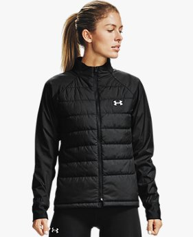 Damen UA Run Insulate Hybrid Jacke