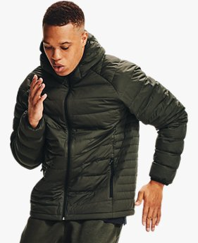 Herren UA Packable Stretch Daunenjacke