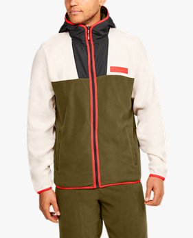 Men's UA Street To Summit Polar Fleece Full Zip