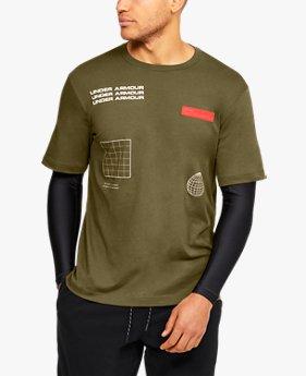 UA 2in1 トップ(ライフスタイル/Tシャツ/MEN)