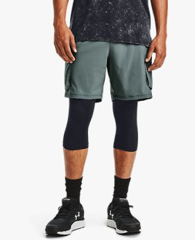 Men's UA Run Anywhere 2-in-1 Long Shorts