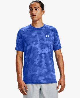 T-shirt à manches courtes UA Streaker 2.0 Inverse pour homme