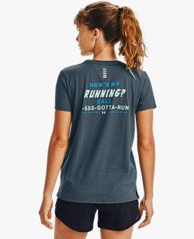 Women's UA How's My Running Short Sleeve