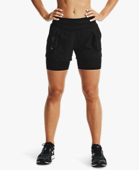 Short UA Run Anywhere 2-en-1 pour femme
