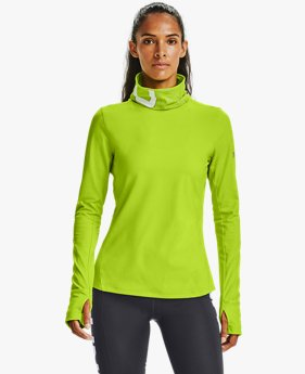 Damestop UA Qualifier Ignight ColdGear® Funnel Neck