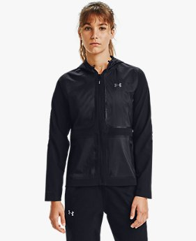 Damen UA Qualifier Storm Speedpocket Jacke