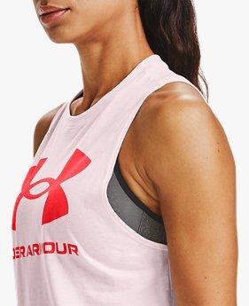Damen UA Sportstyle-Tanktop mit Grafik