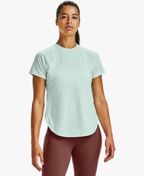 Women's UA Armour Sport Hi-Lo Short Sleeve
