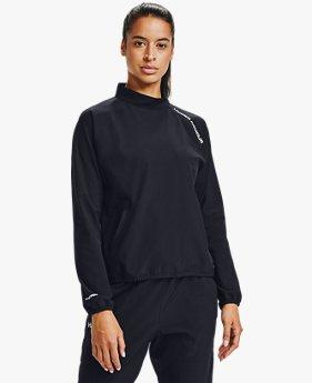 Sudadera UA Woven ¼ Zip para Mujer