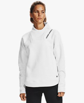 Women's UA RECOVER™ Fleece Wrap Neck