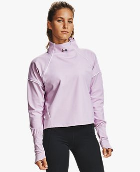 Women's UA RUSH™ ColdGear® ½ Zip