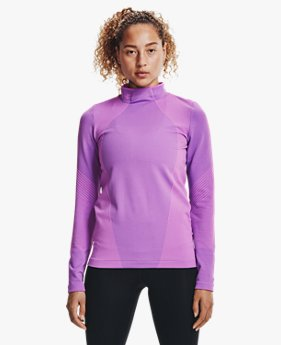 Women's UA RUSH™ ColdGear® Seamless Long Sleeve