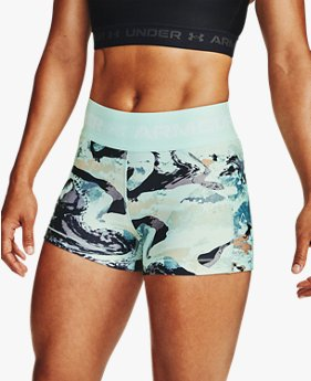 Shorty HeatGear® Armour Printed para Mujer