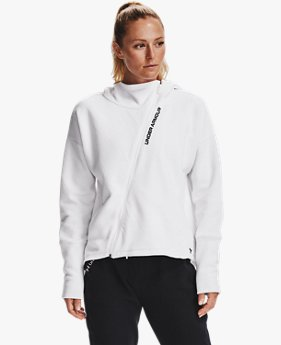 Women's UA RECOVER™ Fleece Full Zip Hoodie