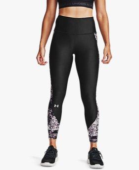 Women's HeatGear® Armour Printed 7/8 Leggings