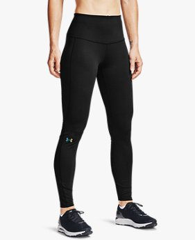 Women's UA RUSH™ ColdGear® Jacquard Leggings