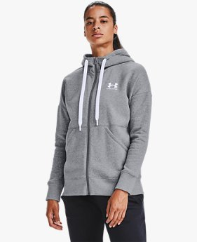Women's UA Rival Fleece Full Zip Hoodie