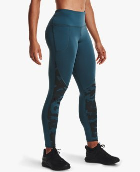 Damen ColdGear® Armour Camo Leggings