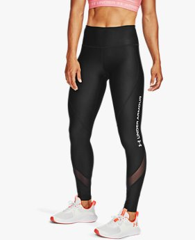 Legging HeatGear® Armour Wordmark para mujer