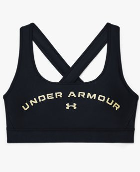 Women's Armour® Mid Crossback Graphic Sports Bra