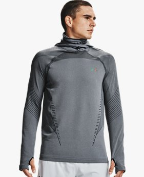 Herenhoodie UA RUSH™ ColdGear® Seamless