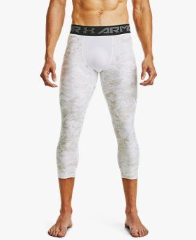 Men's HeatGear® Printed ¾ Leggings
