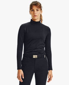 Women's ColdGear® Infrared Long Sleeve Golf Mock