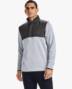 Maglia UA Storm SweaterFleece ½ Snap da uomo